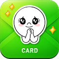 App LINE Greeting Card APK for Kindle