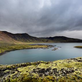 Landmannalaugar #2 by Marsilio Casale - Landscapes Mountains & Hills ( landmannalaugar, iceland, nature, lake, landscape )