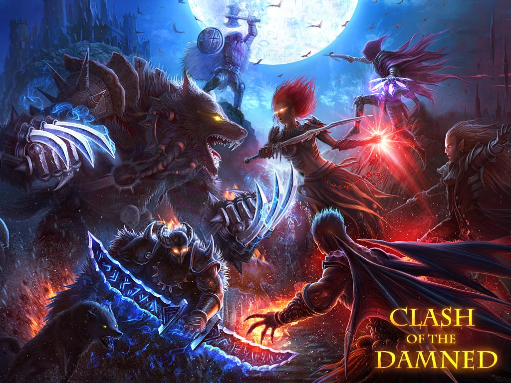 Clash of the Damned- screenshot