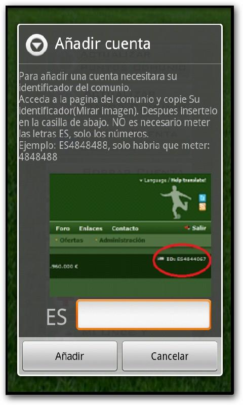 Comunio Puntos- screenshot