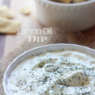 Lemon Dill Dip.