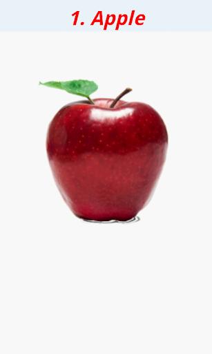 Fruit learning for kids