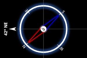 Screenshot of Compass Droid