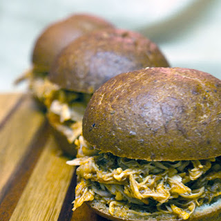 Leftover Pulled Chicken and Chipotle Sliders