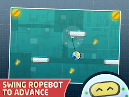 Screenshot of RopeBot Lite - Bot Game