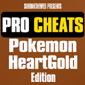 Pro Cheats: Pokemon HeartGold