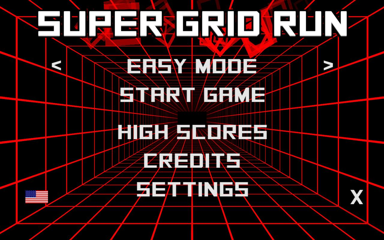 Super Grid Run - screenshot