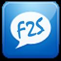 F2S Free SMS India logo