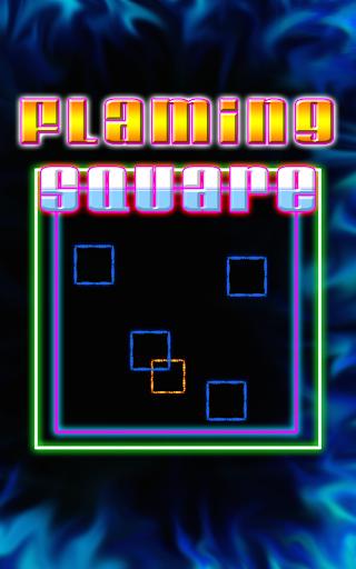 Flaming Square Addictive PRO