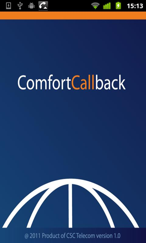 ComfortCallback- screenshot