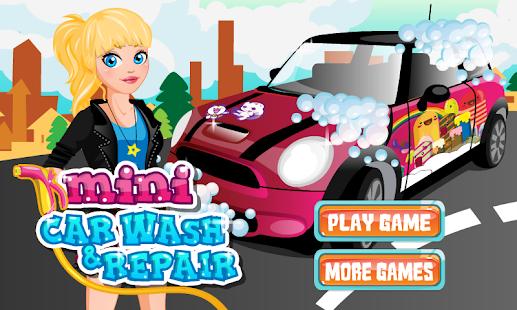 Car Wash Girl Mini Repair