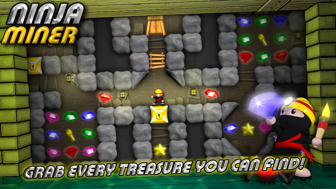 Ninja Miner- screenshot
