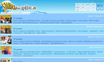 Screenshot of Striscia la APP