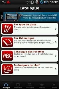 iChef de l'atelier des chefs - screenshot thumbnail