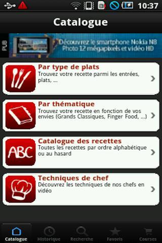 iChef de l'atelier des chefs - screenshot