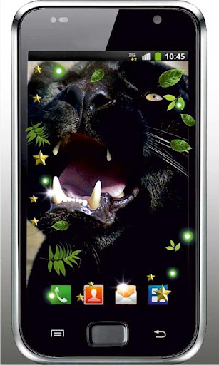 Panthera voice live wallpaper