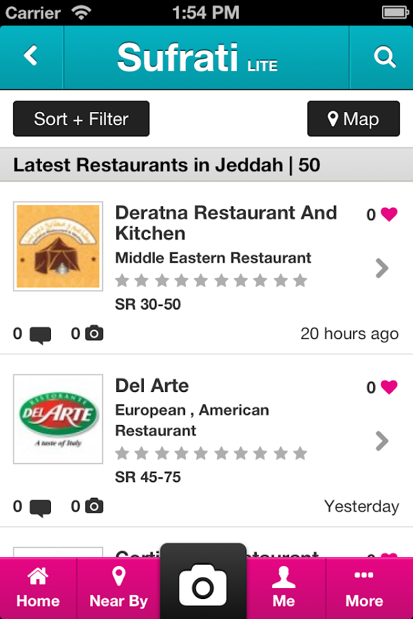 Restaurant & Food Guide - screenshot