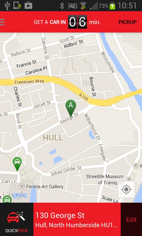 Hull Cars - screenshot