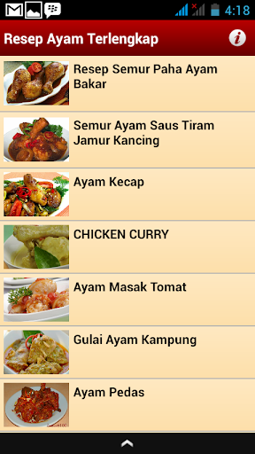 Resep Ayam Terlengkap