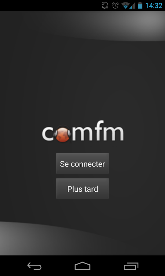COMFM Radio- screenshot