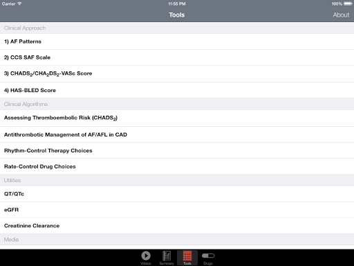 【免費醫療App】CCS Atrial Fibrillation Guide-APP點子