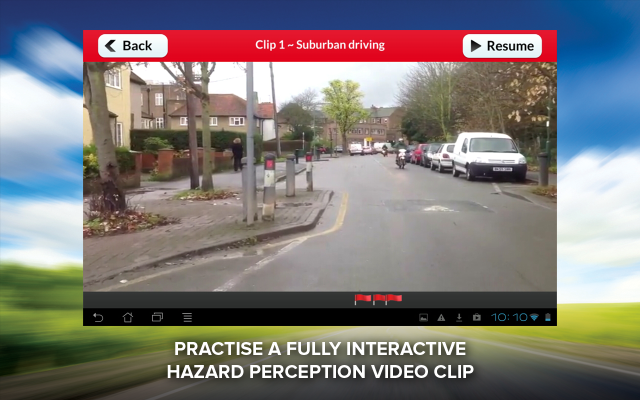 Hazard Perception Test Free - screenshot