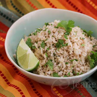 Cilantro Lime Brown Rice.