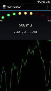 EMF Sensor - screenshot thumbnail