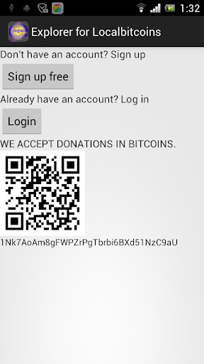 Explorer for Localbitcoins