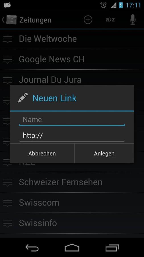 Schweiz Online Zeitungen - screenshot