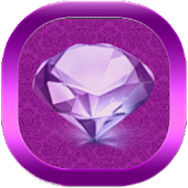 Purple Diamonds GO Theme