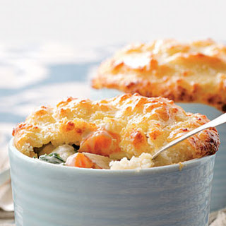 Parmesan Biscuit Topping
