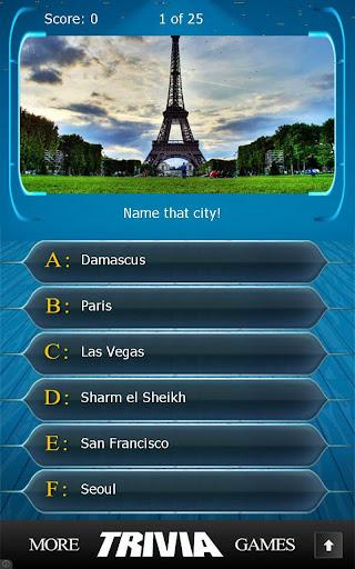Name that City Trivia