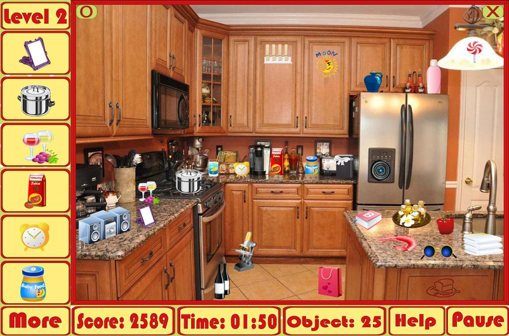 Kids Bedroom Hidden Object messy kitchen hidden objects - android apps on google play