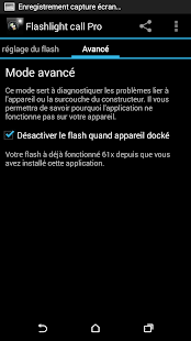 Flashlight Call Pro- screenshot thumbnail