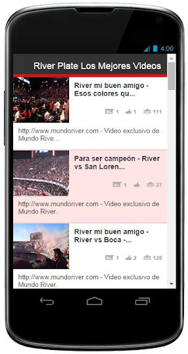 River Plate Canciones y Videos
