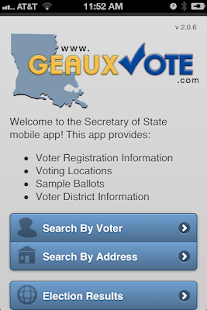 GeauxVote Mobile- screenshot thumbnail