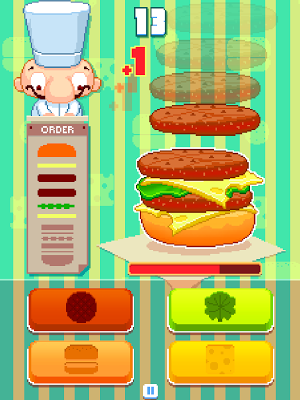 Feed'em Burger - screenshot