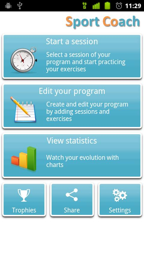 Sport Coach- screenshot