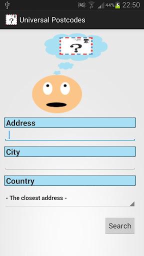 Universal Postcodes