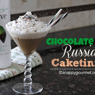 Chocolate Mint Russian Caketini.