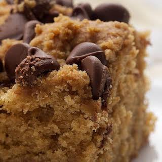 Peanut Butter Chocolate Chip Cake.