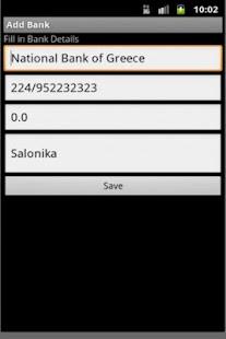 Bank Account Reminder- screenshot thumbnail