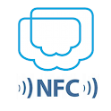 POS IN CLOUD with NFC Checkin logo