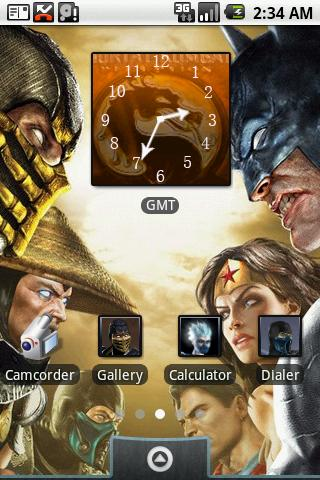 Mortal Kombat: aHome Theme - screenshot