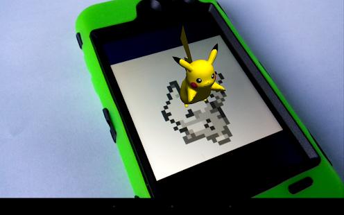 3D A.R. Pokedex: App 1