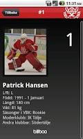 Screenshot of Vallentuna Hockey
