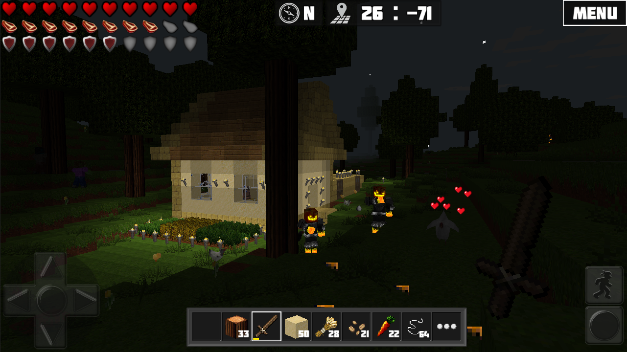 Worldcraft 3d build craft android apps on google play for Survival craft free download pc