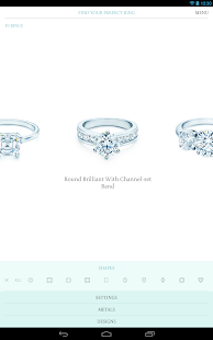 Tiffany Engagement Ring Finder