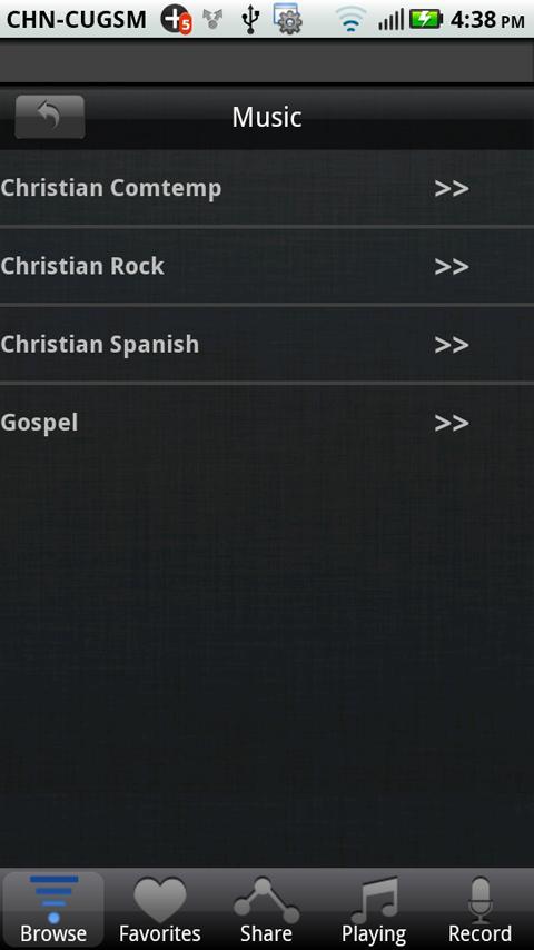 Christian Channels - screenshot